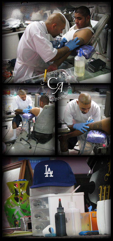 California Tattoo Artist Placaso